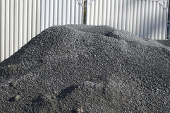 Black rubble Royalty Free Stock Photos