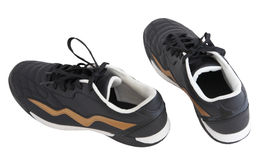 Black running shoes Stock Photo