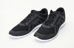 Black Running Shoes Stock Photos