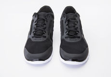 Black Running Shoes Royalty Free Stock Image