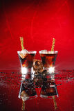 Black russian Stock Photo