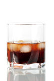 Black russian cocktail Stock Image