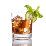 Black russian cocktail Royalty Free Stock Images
