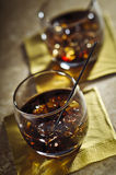 Black Russian Cocktails Stock Photos