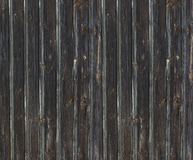 Black Rustic Painted Wood Boards A Halloween design element stock photography