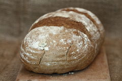 Black rye bread Royalty Free Stock Photos