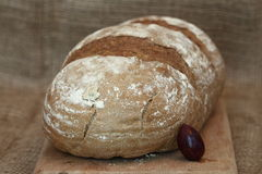 Black rye bread Royalty Free Stock Images