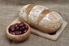 Black rye bread Royalty Free Stock Photography