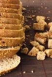 Black rye bread Stock Image