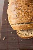 Black rye bread Stock Images