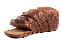 Black rye bread useful Royalty Free Stock Photos