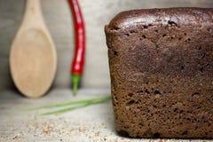 Black rye bread Royalty Free Stock Image