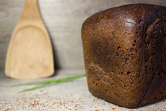 Black rye bread Royalty Free Stock Photography