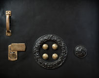 Black safe Stock Images