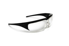 Black Safety Glasses Stock Photography