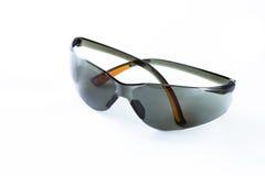 Black safety goggle. Stock Photo