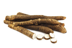 Black salsify Royalty Free Stock Images
