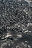 Black Sand royalty free stock image