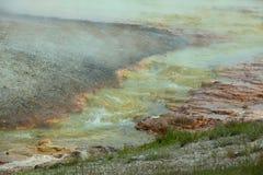 Black Sand Basin Stock Photo