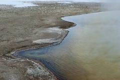 Black Sand Basin, Winter, Yellowstone NP Stock Photos