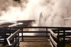 Black Sand Basin Yellowstone Royalty Free Stock Images