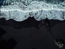 Black Sand Beach Benijo, island Tenerife, Spain stock photo
