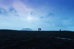 The black sand beach of Reynisfjara Royalty Free Stock Image