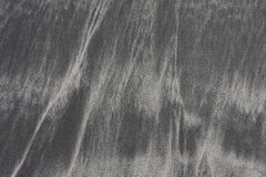 Black sand texture Royalty Free Stock Photos
