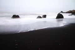 Black sand Vik Iceland Royalty Free Stock Photos