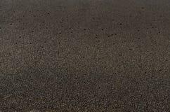 Black sand volcanic beach background Stock Photos