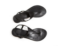Black sandals Royalty Free Stock Photos