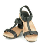 Black Sandals Stock Photos