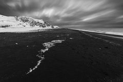 Black Sands Royalty Free Stock Images