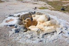 Black sands geyser basin Royalty Free Stock Image