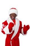 Black santa Stock Photos