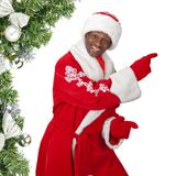 Black santa Stock Images