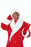 Black santa Royalty Free Stock Photos