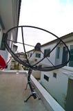 Black satellite  dish Stock Photography