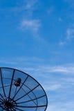 Black Satellite Information Stock Images