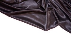Black satin Royalty Free Stock Photography