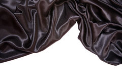 Black satin Stock Photography