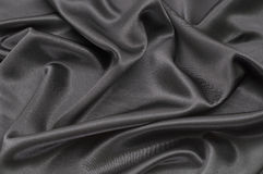 Black satin. Background Royalty Free Stock Images