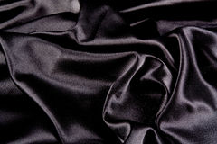 Black Satin Background Stock Photos