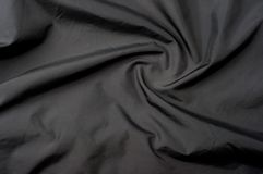 Black satin background Stock Image