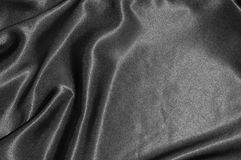 Black satin background Royalty Free Stock Image