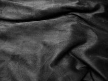 Black satin background. Abstract texture Royalty Free Stock Image
