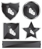 Black Satin - Bar Chart Stock Photos