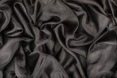 Black satin Royalty Free Stock Images