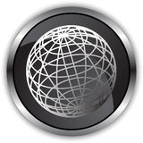 Black Satin - Globe Royalty Free Stock Photo