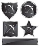 Black Satin - Sagittarius Stock Photography
